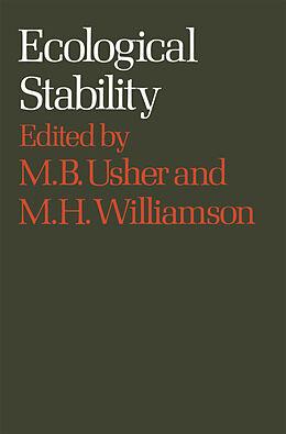 Kartonierter Einband Ecological Stability von M. H. Wíllíámsón, Mícháél B. Úshér
