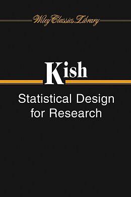 E-Book (pdf) Statistical Design for Research von Leslie Kish