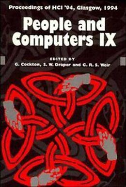 Kartonierter Einband People and Computers von Gilbert (University of Glasgow) Cockton, Stephen (University of Glasgow) Draper, George R. S. (University of Strathclyde) Weir