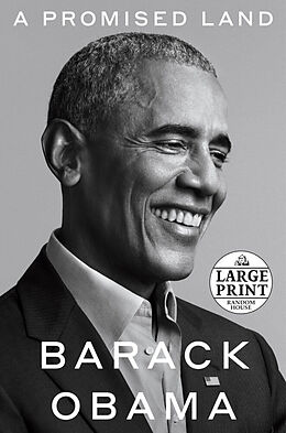 Kartonierter Einband A Promised Land. Large Print von Barack Obama