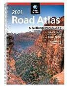 Kartonierter Einband Rand McNally 2021 Road Atlas & National Park Guide von Rand Mcnally