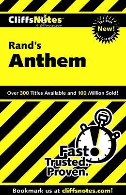 E-Book (epub) CliffsNotes on Rand's Anthem von Andrew Bernstein