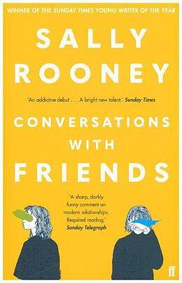 Kartonierter Einband Conversations with Friends von Sally Rooney