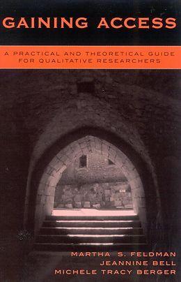 E-Book (epub) Gaining Access von Martha S. Feldman, Jeannine Bell, Michele Tracy Berger