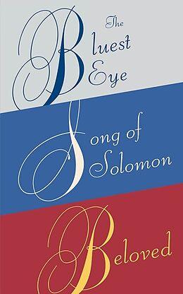 Kartonierter Einband Toni Morrison Box Set: The Bluest Eye, Song of Solomon, Beloved von Toni Morrison