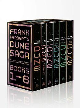 Coffret Frank Herbert's Dune Saga 6-Book Boxed Set von Frank Herbert