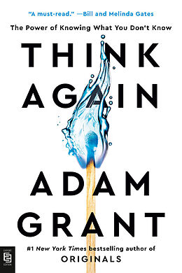 Kartonierter Einband Think Again von Adam Grant