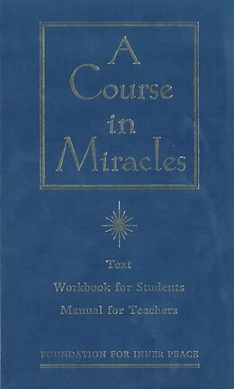 Fester Einband A Course in Miracles von Foundation for Inner Peace