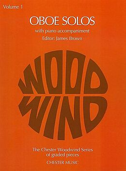Geoff Brown Notenblätter Oboe Solos vol.1 for oboe and