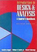 Kartonierter Einband Introduction to Design and Analysis: A Student's Handbook von Geoffrey Keppel, Howard Tokunaga, William H. Saufley