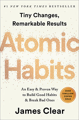 Fester Einband Atomic Habits von James Clear