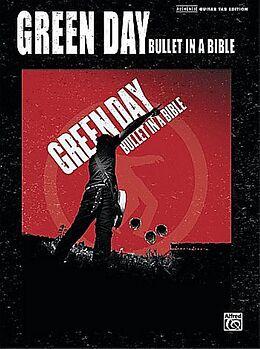 Notenblätter Green Day Bullet in a Bible