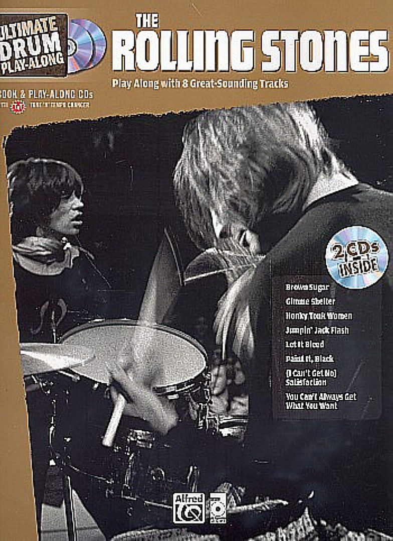 The Rolling Stones (+2 CDs) - for drum set