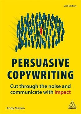 Kartonierter Einband Persuasive Copywriting von Andy Maslen
