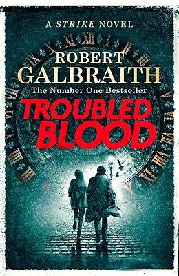 Kartonierter Einband Troubled Blood von Robert Galbraith