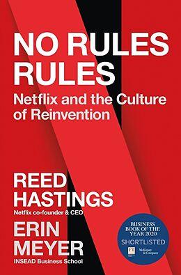 Kartonierter Einband No Rules Rules von Reed Hastings, Erin Meyer