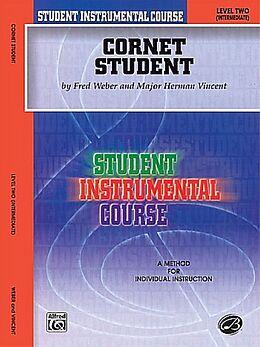 Fred Weber Notenblätter Cornet Student level 2 (intermediate)