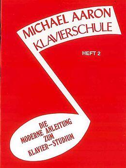 Michael Aaron Notenblätter Klavierschule Band 2 (rot)