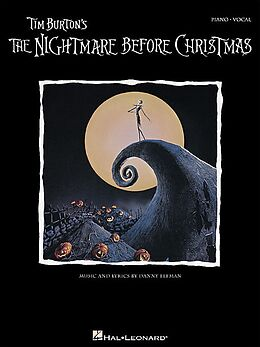 Danny Elfman Notenblätter The Nightmare before Christmas