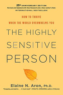 eBook (epub) The Highly Sensitive Person de Elaine N. Aron