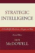 Kartonierter Einband Strategic Intelligence von Don McDowell