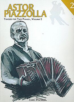 Astor Piazzolla Notenblätter Tangos Vol.2