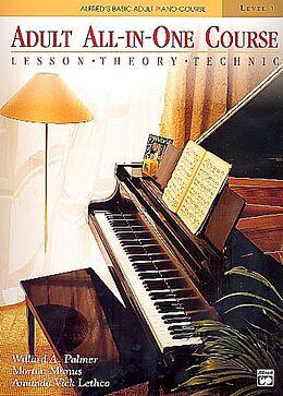 Willard A. Palmer Notenblätter Alfreds Basic Adult Piano Course
