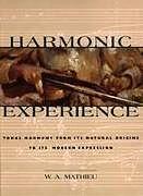 Fester Einband Harmonic Experience von W. A. Mathieu