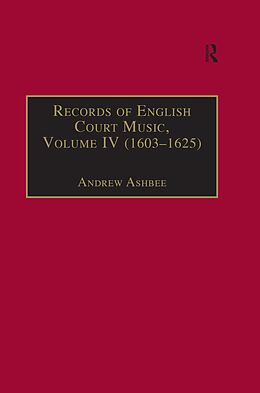 E-Book (pdf) Records of English Court Music von