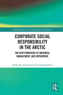 eBook (epub) Corporate Social Responsibility in the Arctic de Gisele M. Arruda, Lara Johannsdottir