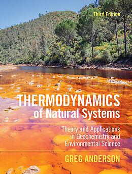 Fester Einband Thermodynamics of Natural Systems von Greg Anderson