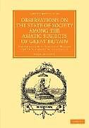 Kartonierter Einband Observations on the State of Society among the Asiatic Subjects of Great Britain von Charles Grant