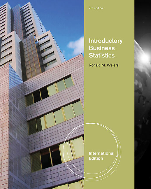 Weiers ebook m introduction business to ronald statistics