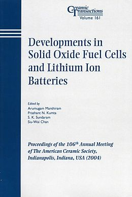 E-Book (pdf) Developments in Solid Oxide Fuel Cells and Lithium Iron Batteries von