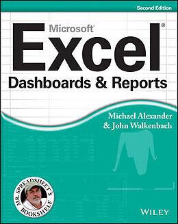 Kartonierter Einband Excel Dashboards and Reports von Michael Alexander