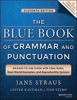 E-Book (pdf) The Blue Book of Grammar and Punctuation, von Jane Straus, Lester Kaufman, Tom Stern