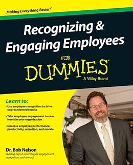 Kartonierter Einband Recognizing & Engaging Employees For Dummies von Bob Nelson