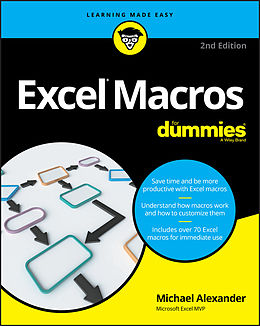 E-Book (epub) Excel Macros For Dummies von Michael Alexander