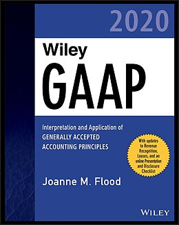 E-Book (epub) Wiley GAAP 2020 von Joanne M. Flood