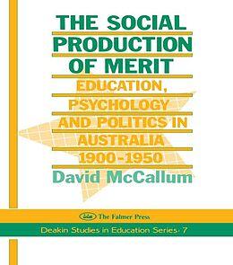 E-Book (epub) Social Production Of Merit von David Mccallum