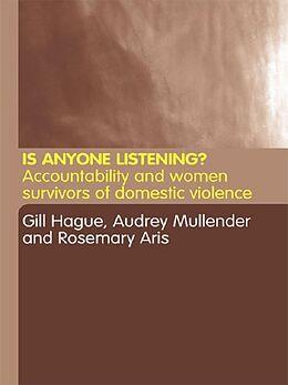 E-Book (pdf) Is Anyone Listening? von Rosemary Aris, Gill Hague, Audrey Mullender