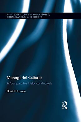 E-Book (pdf) Managerial Cultures von David Hanson