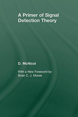 E-Book (pdf) A Primer of Signal Detection Theory von Don McNicol