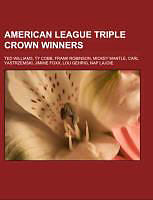 Kartonierter Einband American League Triple Crown winners von