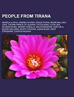 Kartonierter Einband People from Tirana von