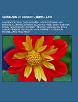 Kartonierter Einband Scholars of constitutional law von