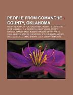 Kartonierter Einband People from Comanche County, Oklahoma von