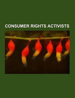 Kartonierter Einband Consumer rights activists von