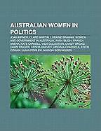 Kartonierter Einband Australian women in politics von