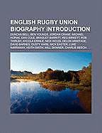 Kartonierter Einband English rugby union biography Introduction von